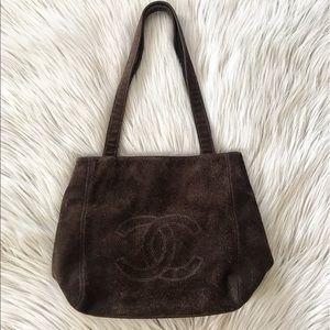 CHANEL Sac Shopping Tote Bag